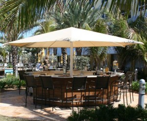 Hospitality Shade Structure