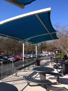 Office Renovations Expand To Exterior Shade Structures