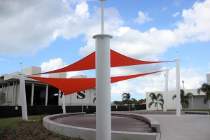 Sarasota High - Atomic Orange Sails
