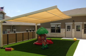 Carolina Shade can help provide shade for your playground!  Give us a call.