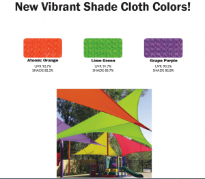 New Vibrant Shade Fabric Colors!