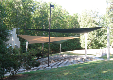 Amphitheater Shade Sail Cover 1