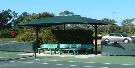 T-Style -Tennis Canopy