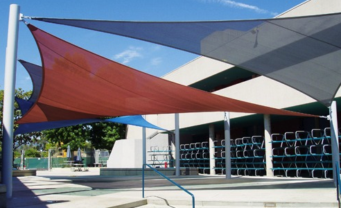 TriangleSails - Aquatics Center