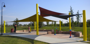 Triangle Shade Sails - Parks